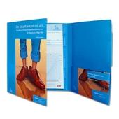 Arbeitsmappe 6 Seiten mit Ordnermechanik, Register und Multifunktionsfächern